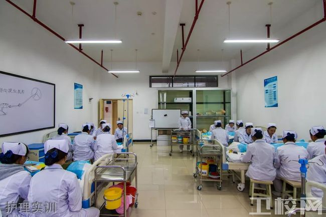 云南经贸外事职业学院护理学院-护理实训