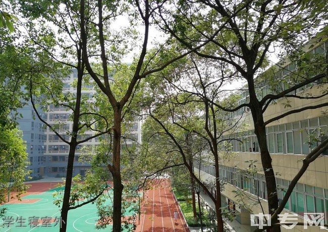 四川省人民医院护士学校学生寝室外