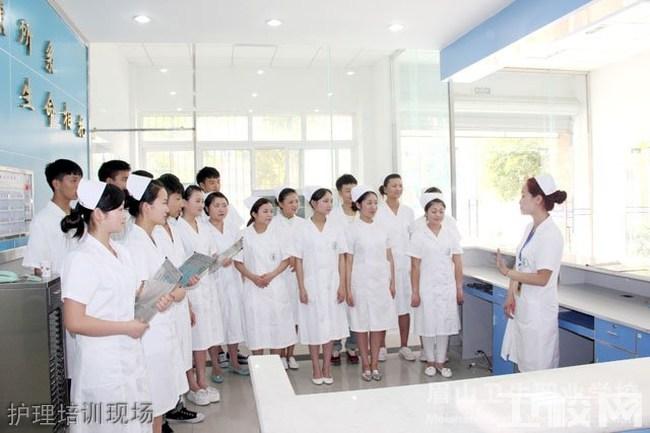 眉山卫生职业学校(眉山威廉希尔公司网址)护理培训现场