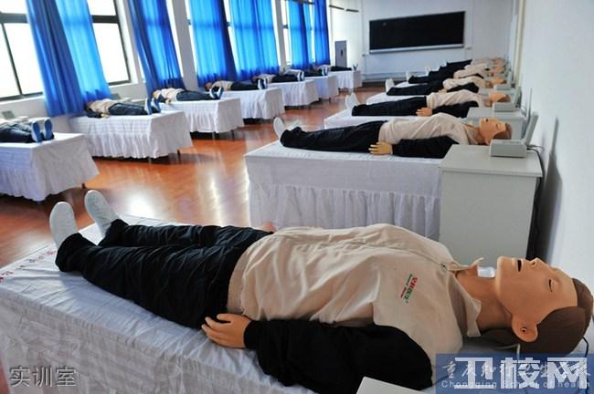 重庆知行卫生学校实训设施:实训室