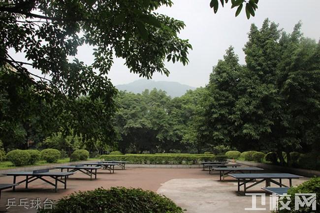 重庆知行卫生学校乒乓球台