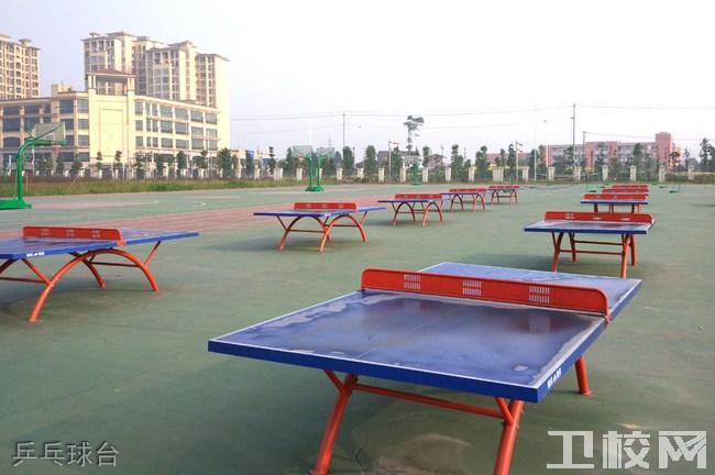 乐山市医药科技学校(成都校区)乒乓球台