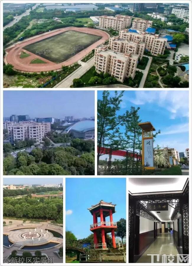 成都中医药大学附属针灸学校(四川省针灸学校)高新校区实景图