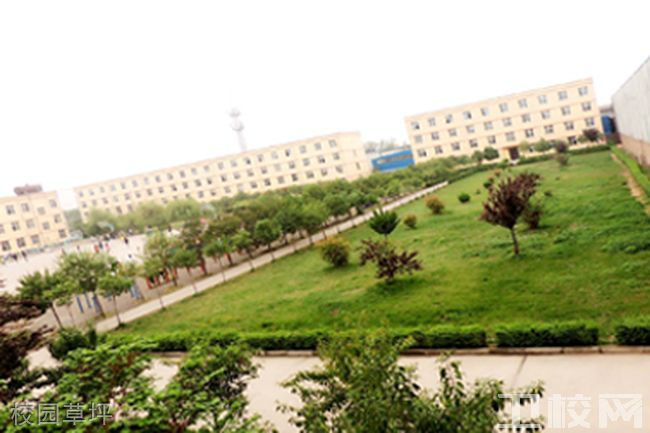 西安医药科技职业学校校园草坪