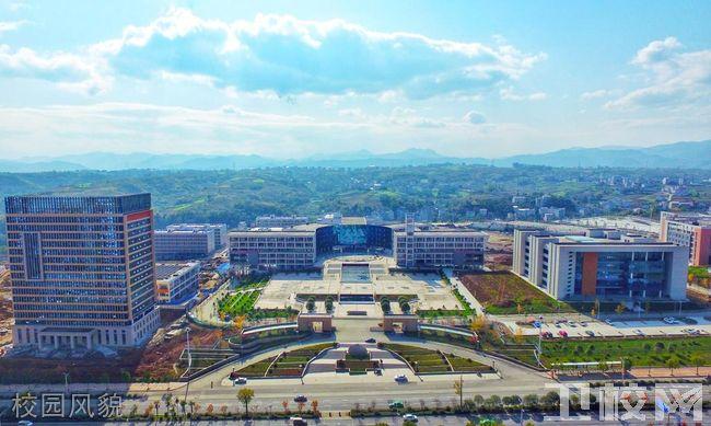 安康职业技术学院的医学部校园风貌