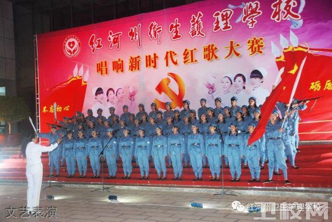 红河州卫生护理学校文艺表演